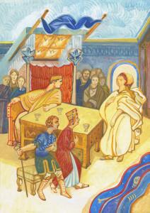 Сюжет к житию святой Екатерины